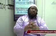 Yayasan Ta'lim: Fiqh Zikir & Doa [07-12-16]