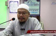 Yayasan Ta'lim: Fiqh Zikir & Doa [15-06-16]