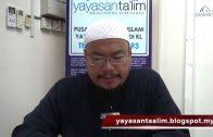 Yayasan Ta'lim: Kelas Hadith Sahih Muslim [18-01-17]