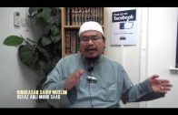 Yayasan Ta'lim: Kelas Hadith Sahih Muslim [22-10-14]