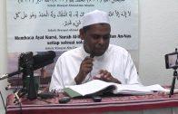 01-09-2014 Ustaz Halim Hassan : Al-Ibanah Izin Dan Redha Allah