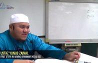Yayasan Ta'lim: First Steps In Arabic Grammar [09-09-15]