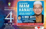 06-05-2017 Dr. Zaharuddin: Imam Abu Hanifah