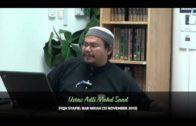 Yayasan Ta'lim: Fiqh Syafie (Bab Nikah) [13-11-13]