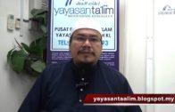 Yayasan Ta'lim: Tafsir Maudhu'ie [05-03-16] (Surah Al Baqarah)