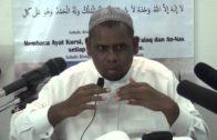05-05-2014 Ustaz Halim Hasan: Beban Untuk Melaksanakan Perintah