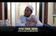 Ustaz Zainal Abidin: Kitab Al-Iman [24-02-15]