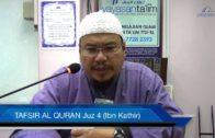 Yayasan Ta'lim: Tafsir Al-Qur'an Juz 4 (Ibn Kathir) [28-02-17]
