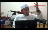 16-02-2014 Ustaz Ahmad Jailani: Lelaki Menyentuh Wanita Dalam Keadaan Berwudhu