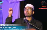 21/10/2017 Maghrib, YBhg. Dr Rozaimi