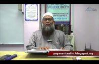 Yayasan Ta'lim: Adab-Adab Islam [18-05-17]