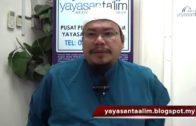 Yayasan Ta'lim: Fiqh Zikir & Doa [27-01-16]