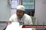 Yayasan Ta'lim: Kelas Sahih Muslim [23-10-16]