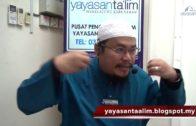 Yayasan Ta'lim: Fiqh Zikir & Doa [01-11-17]