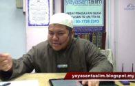 Yayasan Ta'lim: Nasihat Ali Bin Abi Talib Kepada Kumail Bin Zayyad [23-11-17]