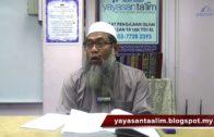 Yayasan Ta'lim: Adab-Adab Islam [07-12-17]