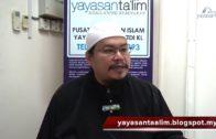 Yayasan Ta'lim: Fiqh Zikir & Doa [19-10-16]