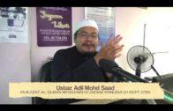 Yayasan Ta'lim: Mukjizat Al Quran Mengenai Kejadian Manusia (bhg 2) [21-09-13]