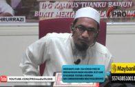 16-01-2016 Maulana Fakhrurrazi: Amalan Yang Membawa Ke Syurga   Misykat Al-Masobih