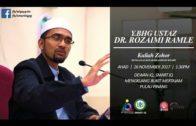 26-11-2017 Dr. Rozaimi Ramle: Menyebarkan Salam, Sebahagian Dari Islam | Sahih Bukhari (siri  14)