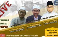 29-10-2016 Forum Perdana: SS. DATO' DR. MAZA | Dr. Roza Imi Ramle | Ustaz Ahmad Jailani ~