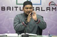 14-01-2018 Ustaz Muhammad Faiz : Syarah Hishnul Muslim