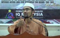 20171125-DR Rozaimi-IQ-Sahih Bukhari Hadith Ke 14 | 3 Perkara Yg Menghimpunkan Iman Dlm Diri