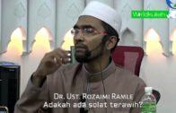 Dr Rozaimi-Berapa Jumlah Minimum Rakaat Tarawih Dan Nama Tarawih Ni Dari Mana