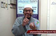 Yayasan Ta'lim: Fiqh Zikir & Doa [31-01-18]