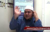 Yayasan Ta'lim: Kelas Sahih Muslim [28-01-18]