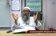 Yayasan Ta'lim: Adab-Adab Islam [09-11-17]