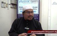 Yayasan Ta'lim: Fiqh Zikir & Doa [02-08-17]