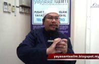 Yayasan Ta'lim: Fiqh Zikir & Doa [12-04-17]