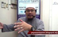 Yayasan Ta'lim: Fiqh Zikir & Doa [17-01-18]