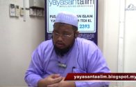 Yayasan Ta'lim: Fiqh Zikir & Doa [20-09-17]