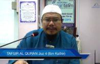 Yayasan Ta'lim: Tafsir Al-Qur'an Juz 4 (Ibn Kathir) [13-06-17]