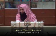 Younus Kathrada: 40 Hadith Of An-Nawawi (Hadith 1 & 2) [24-01-15]