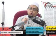 03-01-2016 Ustaz Ahmad Jailani: Isu Air Mandi Jasad Nabi_Sufi Yang Melampau