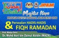 20160623-SS DATO DR ASRI-JPAM_Persoalan Hadith² & Fiqh Ramadhan