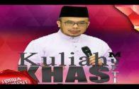 20161024-SS Dato Dr Asri-Kuliah Khas