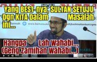 Sultan Johor FAHAM Fiqh Dan Setuju Dengan Dr. Rozaimi?