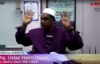 09-09-2017 || Ustaz Halim Hassan || Jami'ul Ulum Wal Hikam – Ibnu Rajab Hambali
