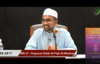 SIRI 41|| Al-Fiqh Al-Manhaji || DR ROZAIMI RAMLE