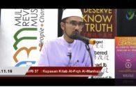 SIRI 37|| Al-Fiqh Al-Manhaji || DR ROZAIMI RAMLE