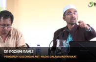 13 Mac 2016 | Dr Rozaimi Ramle || Pengaruh Golongan Anti Hadis Dalam Masyarakat