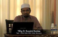 15-04-02016 Ulama Hadis Akhir Zaman Berzaman Oleh Dr Rozaimi Ramlee