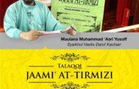 19-03-2016 || Keharusan Membuang Air Kecil Sambil Berdiri || Maulana Muhammad Asri Yusoff