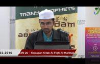 SIRI 26|| Al-Fiqh Al- Manhaji || DR ROZAIMI RAMLEE