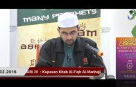 SIRI 25   Al-Fiqh Al- Manhaji    DR ROZAIMI RAMLEE
