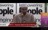 SIRI 15|| Al-Fiqh Al- Manhaji || DR ROZAIMI RAMLE